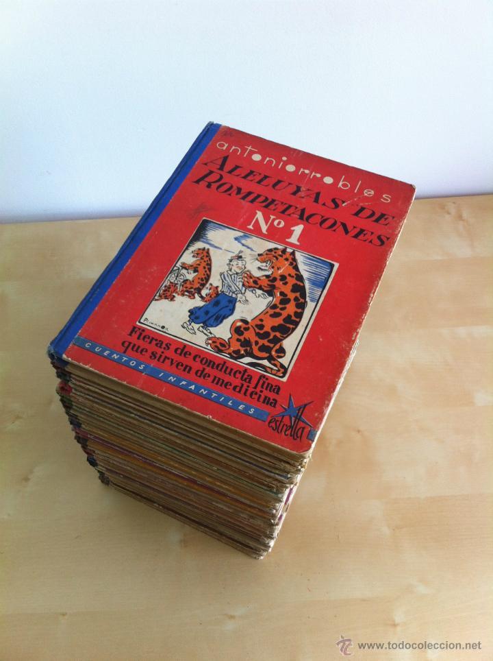 Libros de segunda mano: ALELUYAS DE ROMPETACONES. 1939. INCLUYE CUENTO INÉDITO, CORRECIONES Y DEDICATORIA DE ANTONIORROBLES. - Foto 285 - 42799560