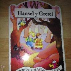 Libros de segunda mano: HANSEL Y GRETEL, EDITORIAL EDAF, CUENTO CLASICO.. Lote 42841864