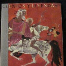 Libros de segunda mano: CUENTOS Y LEYENDAS GRIEGAS, EDITORIAL MOLINO.(VER FOTOS). Lote 43034109