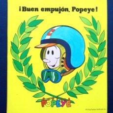 Libros de segunda mano: CUENTO TROQUELADO POP-UP DESPLEGABLE COLECCIÓN POPITOS ¡ BUEN EMPUJON, POPEYE ! ED ROMA AÑOS 70 . Lote 43064088