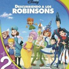 Libros de segunda mano: DESCUBRIENDO A LOS ROBINSONS. LECTURA NIVEL 2 (LEO CON DISNEY) [TAPA BLANDA]. Lote 43100080