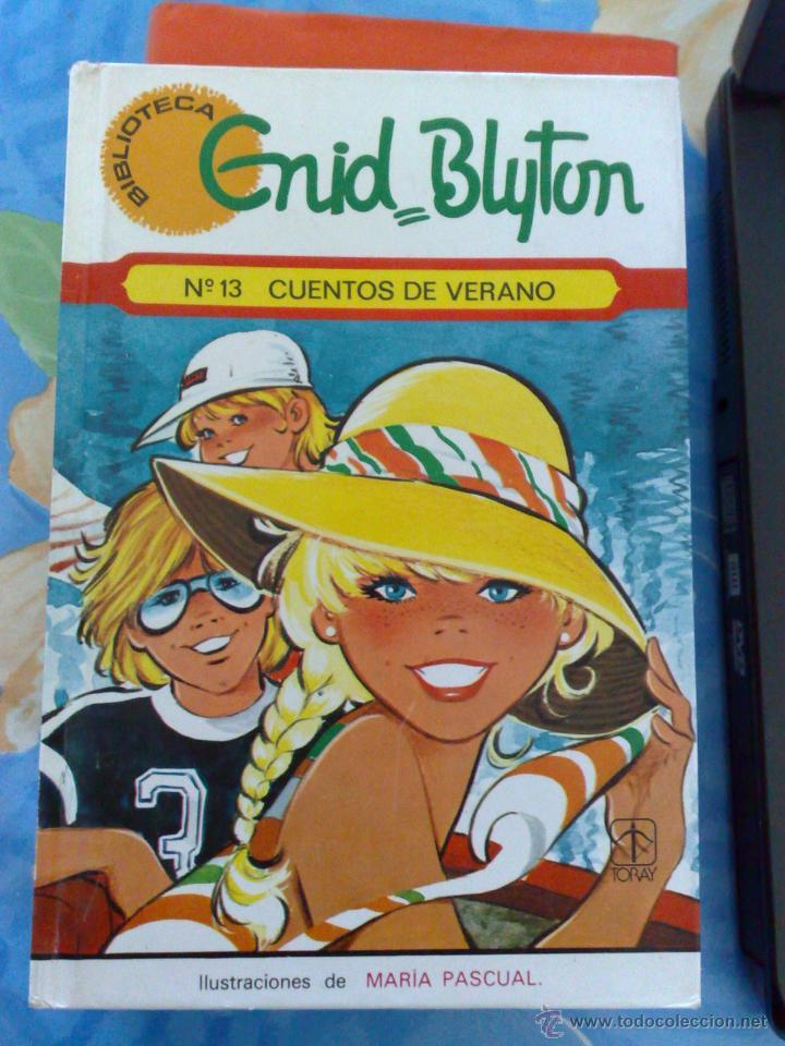 CUENTOS DE VERANO (ILUSTRADOS POR MARÍA PASCUAL) TAPA DURA, TORAY (Libros de Segunda Mano - Literatura Infantil y Juvenil - Cuentos)