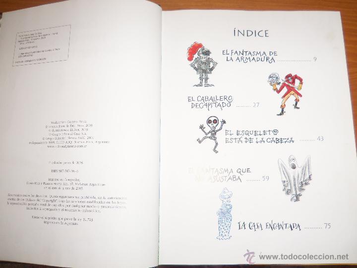 Libros de segunda mano: CUENTOS TERRORIFICOS DE FANTASMAS, por Joan de Déu Prats LLuisot - TINUNMAS - Argentina - 2005/ RARO - Foto 3 - 43165632