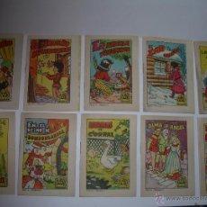 Libros de segunda mano: DIEZ MINI CUENTOS....TESORO DE CUENTOS.. Lote 43253103