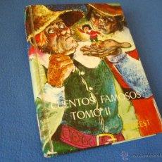 Libros de segunda mano: CUENTOS FAMOSOS ( TOMO II ) - EVEREST 1974 -. Lote 38638159