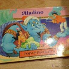 Libros de segunda mano: ALADINO, POP-UP FAVORITOS. ILUSTRACIONES JOHN PATIENCE. Lote 85747230