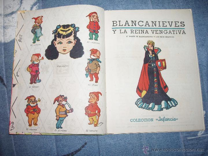 BLANCANIEVES Y LA REINA VENGATIVA =BLANCA NIEVES= + 1 REGALO (Libros de Segunda Mano - Literatura Infantil y Juvenil - Cuentos)