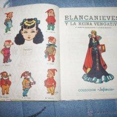 Libros de segunda mano: BLANCANIEVES Y LA REINA VENGATIVA =BLANCA NIEVES= + 1 REGALO. Lote 43348591