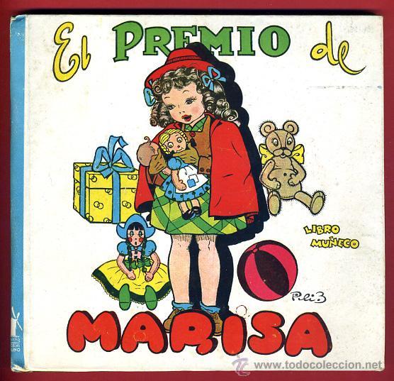 Libros de segunda mano: LIBRO MUÑECO , CUENTO , EL PREMIO DE MARISA , TROQUELADO , 1944 , ORIGINAL - Foto 2 - 43365036