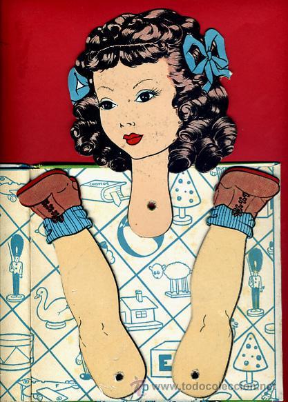 Libros de segunda mano: LIBRO MUÑECO , CUENTO , EL PREMIO DE MARISA , TROQUELADO , 1944 , ORIGINAL - Foto 4 - 43365036