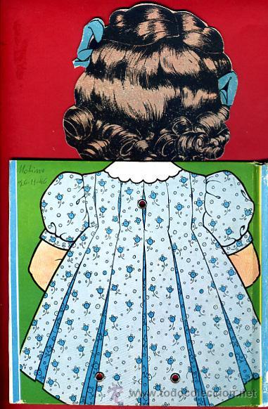 Libros de segunda mano: LIBRO MUÑECO , CUENTO , EL PREMIO DE MARISA , TROQUELADO , 1944 , ORIGINAL - Foto 6 - 43365036