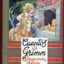 Libros de segunda mano: LIBRO CUENTO , CUENTOS DE GRIMM , 2ª SEGUNDA SERIE , EDITORIAL MAUCCI ,1943 , ORIGINAL. Lote 43365304