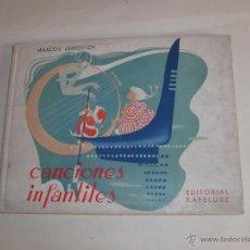 Libros de segunda mano: CANCIONES INFANTILES -. Lote 43494230