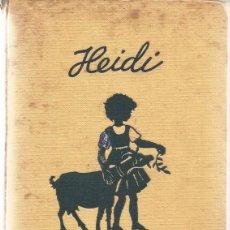 Libros de segunda mano: JUANA SPYRI. HEIDI. RM65668. . Lote 43663353
