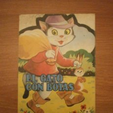 Libros de segunda mano: CUENTO TROQUELADO EL GATO CON BOTAS -- EDITORIAL ANTALBE . Lote 43735564