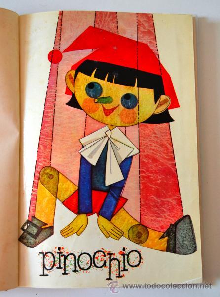 Libros de segunda mano: COLECCION ILUSION Nº3 TAPA DURA EDITORIAL MOLINO 5 TITULOS * PINOCHO * EL DIABLO BURLADO * AÑO 1961 - Foto 3 - 43860109
