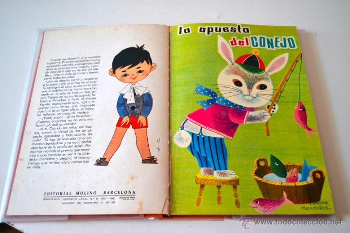 Libros de segunda mano: COLECCION ILUSION Nº3 TAPA DURA EDITORIAL MOLINO 5 TITULOS * PINOCHO * EL DIABLO BURLADO * AÑO 1961 - Foto 4 - 43860109