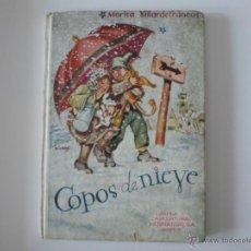 Libros de segunda mano: COPOS DE NIEVE, POR MARISA VILLARDEFRANCOS. Lote 43875442