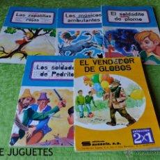 Libros de segunda mano: LOTE DE 6 CUENTOS VARIADOS COLECCIÓN COMETA Y EDIC. SUSAETA.. Lote 43914435