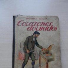 Libros de segunda mano: BIBLIOTECA SELECTA RAMON SOPEÑA CORAZONES DORMIDOS 1917. Lote 44046604