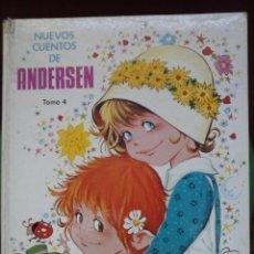 Libros de segunda mano: LIBRO NUEVOS CUENTOS DE ANDERSEN. Lote 44076989