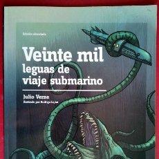 Libros de segunda mano: JULIO VERNE . VEINTE MIL LEGUAS DE VIAJE SUBMARINO. Lote 44106574