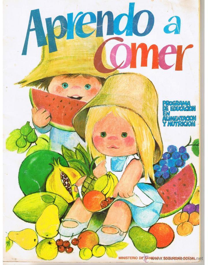 cuentos para colorear. aprendo a comer. educac - Comprar Libros de ...