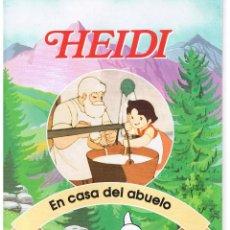 Libros de segunda mano: HEIDI. FASCICULO Nº 2. EN CASA DEL ABUELO. RBA. (P/C6). Lote 44134107