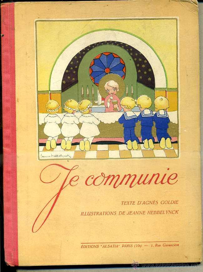 JE COMMUNIE, EN FRANCÉS (Libros de Segunda Mano - Literatura Infantil y Juvenil - Cuentos)