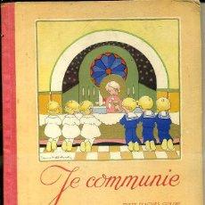 Libros de segunda mano: JE COMMUNIE, EN FRANCÉS. Lote 44210504