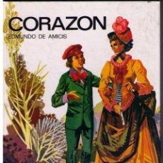 Libros de segunda mano: CORAZÓN. EDMUNDO DE AMICIS. PRECIOSAS ILUSTRACIONES DE J.P. MONTERO. SUSAETA. 1980.. Lote 44220811