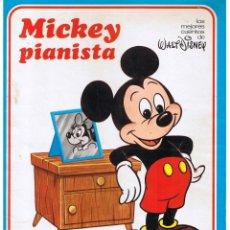 Libros de segunda mano: LOS MEJORES CUENTOS DISNEY, MICKEY PIANISTA. SUSAETA 1978.. Lote 44241786