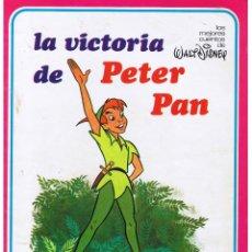 Libros de segunda mano: LOS MEJORES CUENTOS DISNEY. LA VICTORIA DE PETER PAN. SUSAETA 1977.. Lote 44241899
