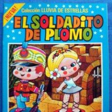 Libros de segunda mano: DIBUJOS DE JAN LLUVIA DE ESTRELLAS EL SOLDADITO DE PLOMO Nº 8 NUEVO CUENTOS BRUGUERA 1985. Lote 105974312