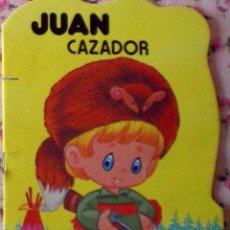 Libros de segunda mano: COLECCIÓN PULGARCITO CUENTO TROQUELADO JUAN CAZADOR DIBUJOS CARLOS BUSQUETS 1ª EDICIÓN 1980. Lote 44298523