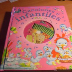Libros de segunda mano: CANCIONES INFANTILES. TODOLIBRO. INCLUYE CD (LB14). Lote 44442039