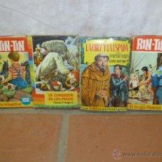 Libros de segunda mano: LOTE DE 4 LIBROS CUENTO INFANTIL Y COMIC ANTIGUOS, RIN TIN TIN Y MAS.. Lote 44466889