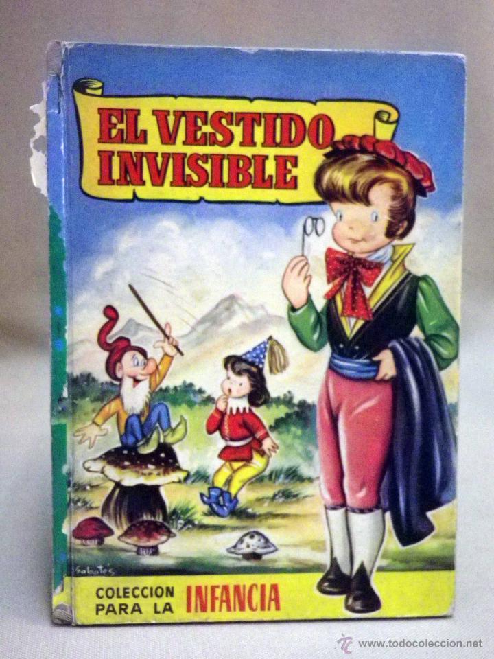 LIBRO, COLECCION PARA LA INFANCIA, EL VESTIDO INVISIBLE, EDITORIAL BRUGUERA, 1956 (Libros de Segunda Mano - Literatura Infantil y Juvenil - Cuentos)