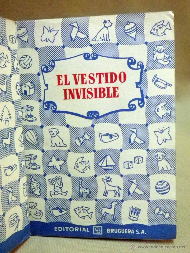 Libros de segunda mano: LIBRO, COLECCION PARA LA INFANCIA, EL VESTIDO INVISIBLE, EDITORIAL BRUGUERA, 1956 - Foto 3 - 44662810