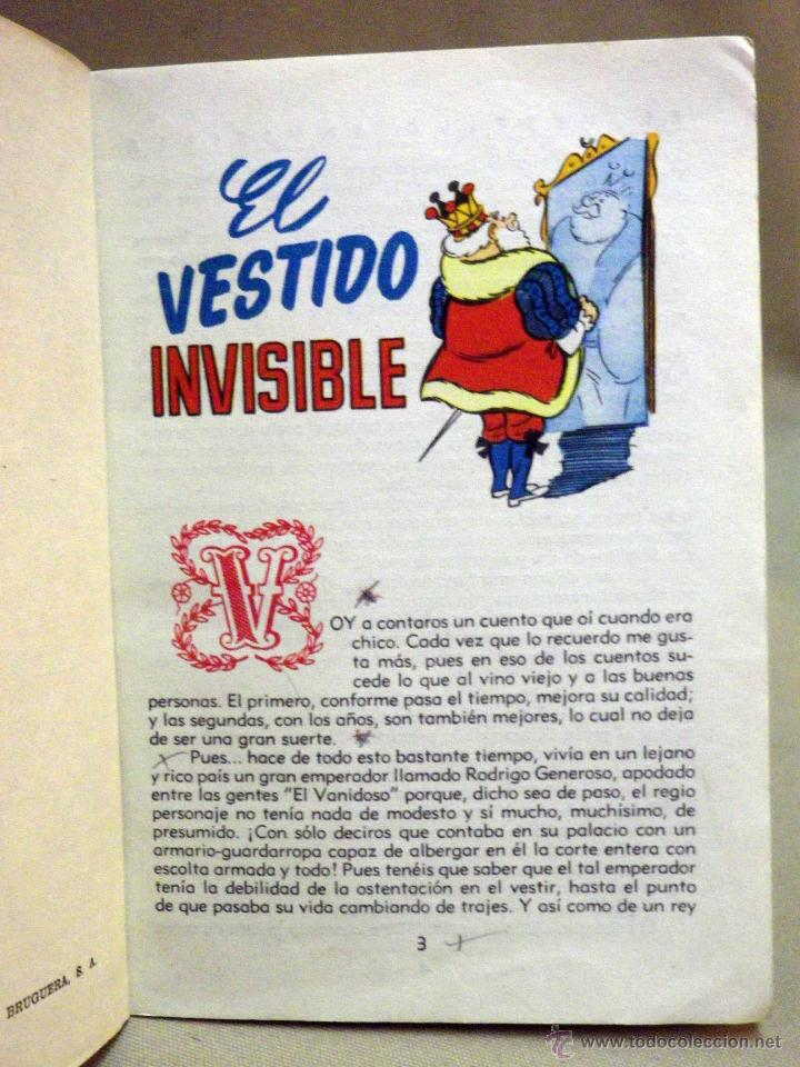 Libros de segunda mano: LIBRO, COLECCION PARA LA INFANCIA, EL VESTIDO INVISIBLE, EDITORIAL BRUGUERA, 1956 - Foto 5 - 44662810