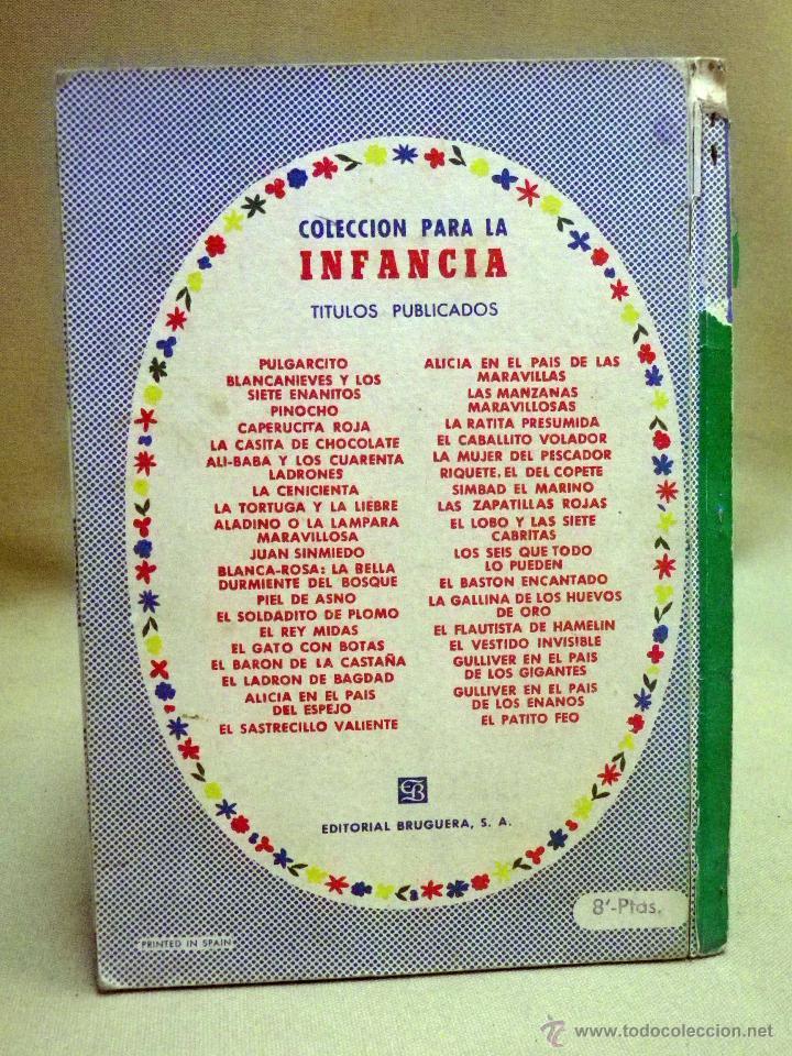 Libros de segunda mano: LIBRO, COLECCION PARA LA INFANCIA, EL VESTIDO INVISIBLE, EDITORIAL BRUGUERA, 1956 - Foto 6 - 44662810