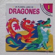 Libros de segunda mano: UN PLANETA LLENO DE DRAGONES, JUEGA Y CUENTA, SUSAETA, NÚM 1, 1988.. Lote 44673086
