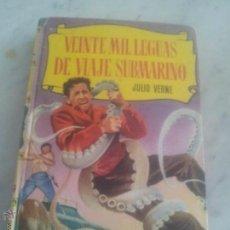 Libros de segunda mano: VEINTE MIL LEGUAS DE VIAJE SUBMARINO. Lote 44801268