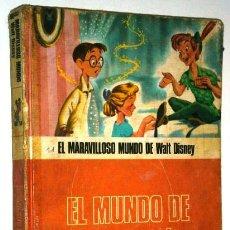 Libros de segunda mano: EL MUNDO DE LA ILUSIÓN POR WALT DISNEY DE ED. SALVAT EN NAVARRA 1977. Lote 44821633