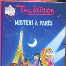 Libros de segunda mano: TEA STILTON Nº 4: MISTERI A PARÍS (DESTINO, 2009). Lote 107035910