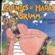 Libros de segunda mano: CUENTOS DE HADAS DE GRIMM 2ª SERIE (MOLINO, 1942) ILUSTRACIONES DE BOCQUET. Lote 44951832