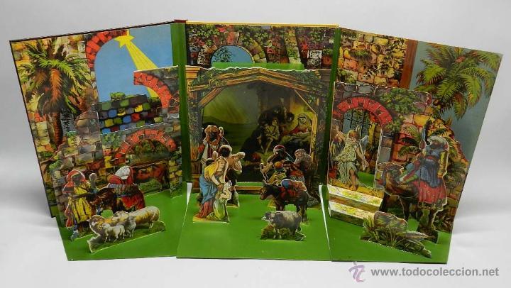 Libros de segunda mano: EL BELEN, DESPLEGABLE, TROQUELADO, ANAYA, UN BELEN DESPLEGABLE PARA COLOCAR DE PIE, EDITORIAL DE 199 - Foto 2 - 44980058