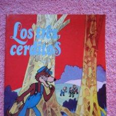 Libros de segunda mano: LOS TRES CERDITOS EDITORIAL CASTELLANA 1981 CUENTO. Lote 45045272