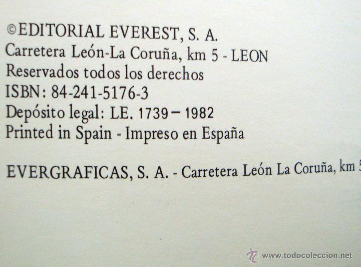 Libros de segunda mano: 2 Cuentos nuevos de Everest 1981-82 tierras y mares colección Carlos y Sandra - Foto 2 - 45124881