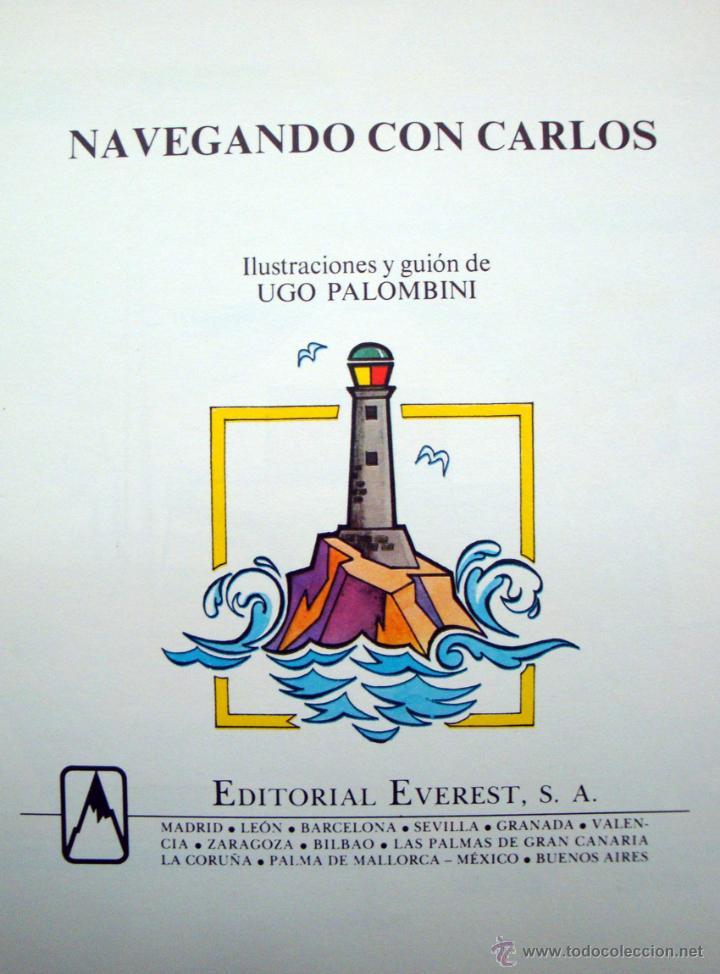 Libros de segunda mano: 2 Cuentos nuevos de Everest 1981-82 tierras y mares colección Carlos y Sandra - Foto 3 - 45124881